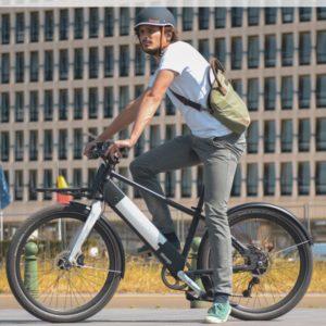 Modular Bike – Hybrid (36V) – 3 speed heads up & front rack pack