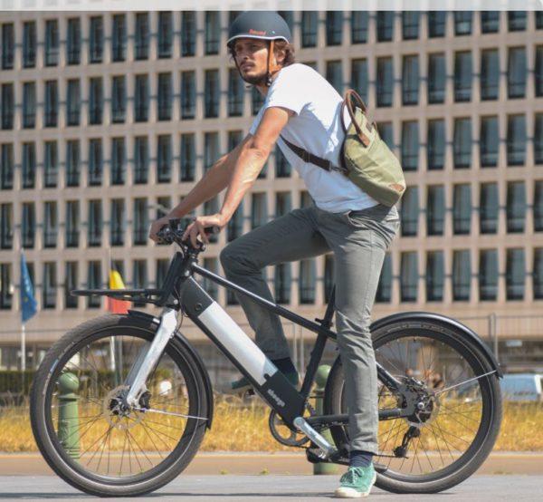 Modular Bike - Hybrid (36V) - 3 speed heads up & front rack pack