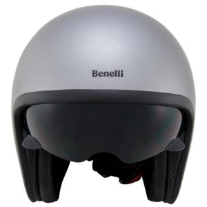 Leoncino Jet helm Silver/Black  XL