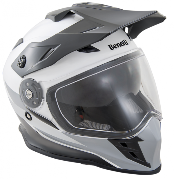Benelli adventure helm BX 31 Black White S