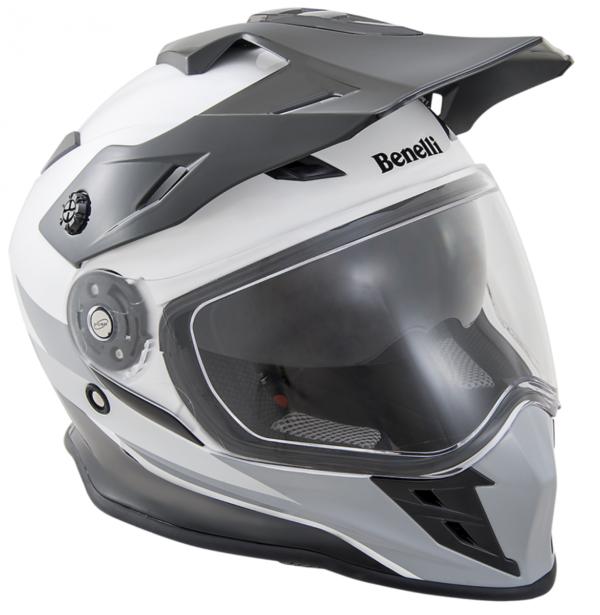 Benelli adventure helm BX 31 Black White M