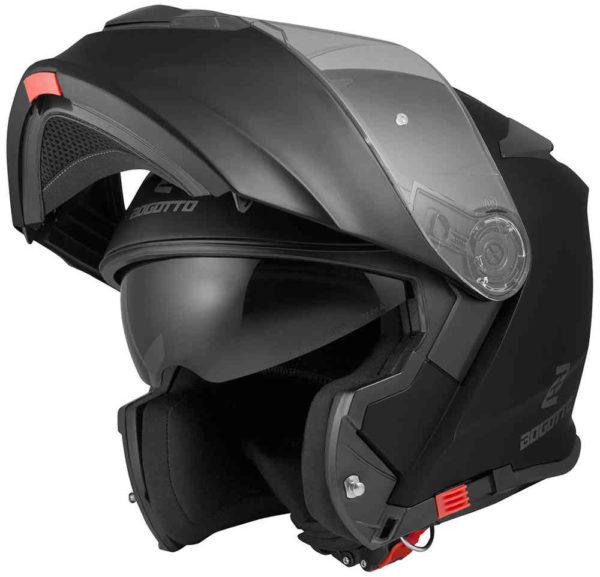 V271 Solid Black Matt - XL