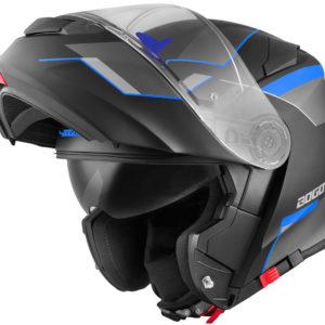 V271 Black matt / blue – XL
