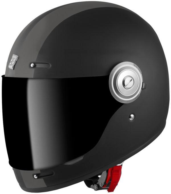 V135 Black Matt / Grey - Large