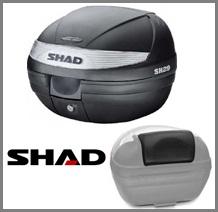SHAD Topcase + backrest