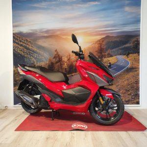 JETX 125 E5 Imola Red