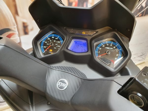 Sym JoyMax Z+ 125cc Matt Black