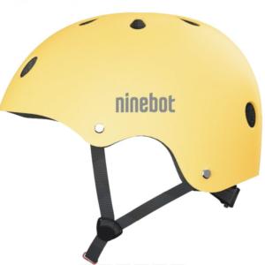 Commuter helmet yellow