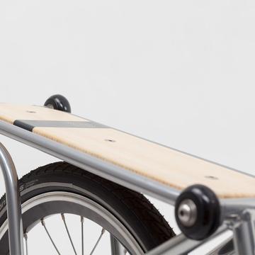 Rear carrier for Ahooga Folding Bike