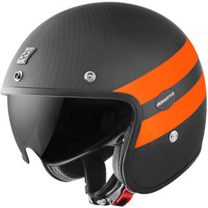 V587 Crono Carbon Matt / Orange – Small