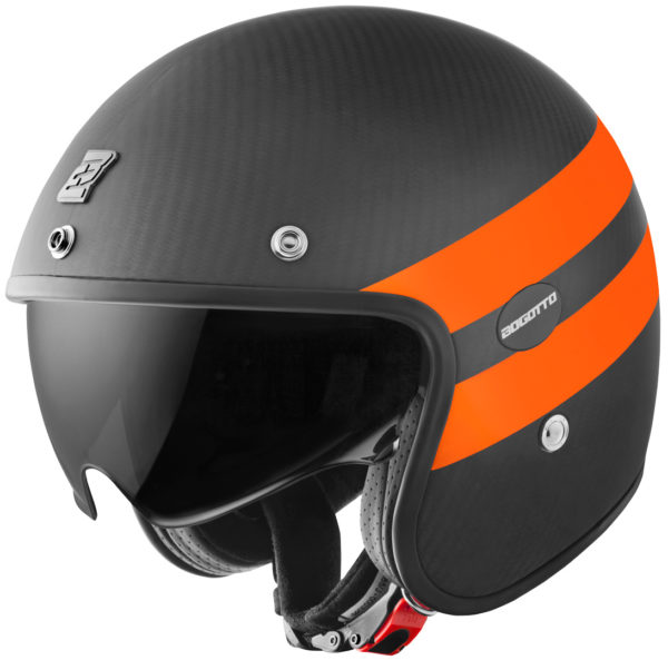 V587 Crono Carbon Matt / Orange - Small